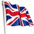 Bandiera inglese 20x30