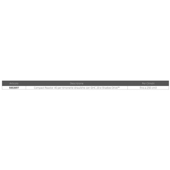 AUTOPILOTA COMPACT REACTOR 40