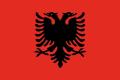 BANDIERA ALBANIA