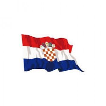 Bandiera croata 40x60